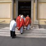 Templomunk búcsúja