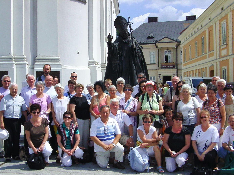 Lengyelországi zarándoklat 2013